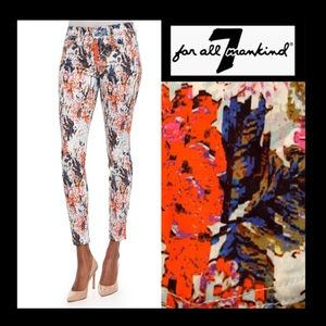 7 For all Mankind The Ankle Skinny in Floral Haze